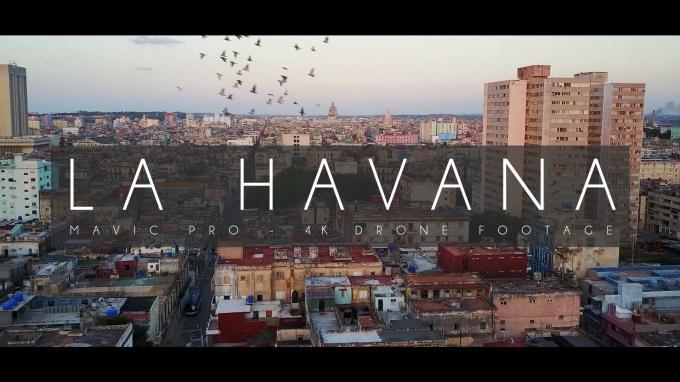 La Havana, Cuba – Drone Footage