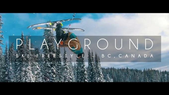 Playground – Ski Feestyle edit, Canada